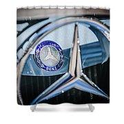 1968 Mercedes-benz 280 Sl Roadster Emblem -0919c Shower Curtain