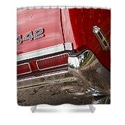 1968 Oldsmobile 442 Shower Curtain