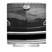 1968 Volkswagen Karmann Ghia Convertible Shower Curtain