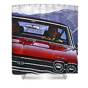 1969 Chevelle Ss 396 Shower Curtain
