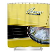 1969 Chevrolet Camaro Emblem -0236c Shower Curtain