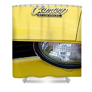 1969 Chevrolet Camaro Emblem -0241c Shower Curtain