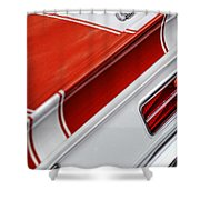 1969 Chevrolet Camaro Ss Indianapolis 500 Pace Car Rear Shot Shower Curtain