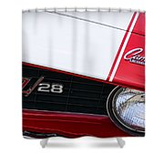 1969 Chevrolet Camaro Z28 Shower Curtain
