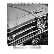 1969 Chevrolet Chevelle Ss 396 Shower Curtain