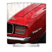 1969 Chevy Camaro Rs Shower Curtain