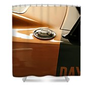 1969 Dodge Charger Daytona - Fuel Day Shower Curtain