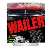 1969 Dodge Charger R/t Shower Curtain
