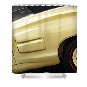 1969 Dodge Coronet R/t Convertible Shower Curtain
