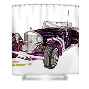 1969 Excalibur Ss Roadster Shower Curtain