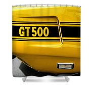 1969 Ford Shelby Mustang Gt500 Shower Curtain