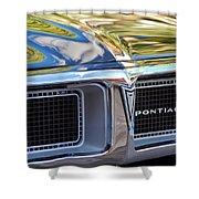 1969 Pontiac Firebird 400 Grille Shower Curtain