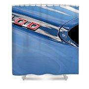 1969 Pontiac Firebird 400 Hood Shower Curtain