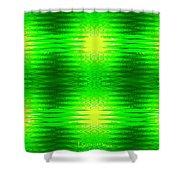 197 - Deco Green 2 Shower Curtain