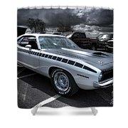 1970 Aar Barracuda Shower Curtain
