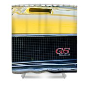 1970 Buick Gs Grille Emblem Shower Curtain