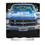 1970 Chevy Chevelle 454 Ss   Shower Curtain