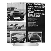1970 Dodge Challenger T/a Shower Curtain