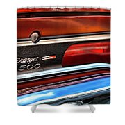 1970 Dodge Charger 500  Shower Curtain