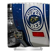 1970 Dodge Coronet Super Bee Shower Curtain