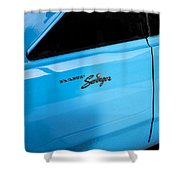 1970 Dodge Dart Swinger 340 Shower Curtain