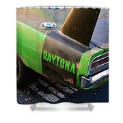 1970 Dodge Daytona Charger Shower Curtain