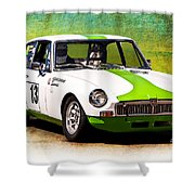 1970 Mgb Gt Shower Curtain