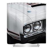1970 Olds Cutlass 442  Shower Curtain