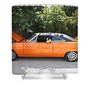1970 Plymouth Dodge Superbird Shower Curtain