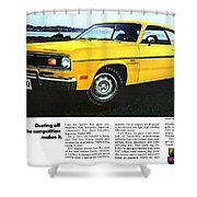 1970 Plymouth Duster 340 Shower Curtain