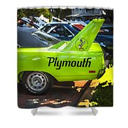 1970 Plymouth Road Runner Hemi Super Bird  Shower Curtain