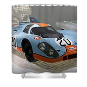 1970 Porsche 917 Kh Coupe Shower Curtain