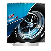 1971 Buick Gs Stage 1 Shower Curtain