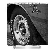 1971 Dodge Dart Swinger Shower Curtain