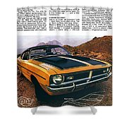 1971 Dodge Demon 340 Shower Curtain