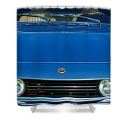 1971 Fiat Dino 2.4 Grille Shower Curtain