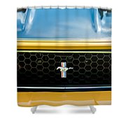 1971 Ford Mustang Mach 1 Front End Shower Curtain