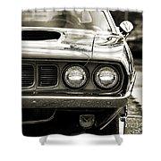 1971 Plymouth Cuda 383 Shower Curtain