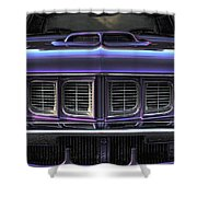 1971 Plymouth 'cuda 440 Shower Curtain by Gordon Dean II