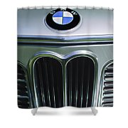 1972 Bmw 2000 Tii Touring Grille Emblem Shower Curtain