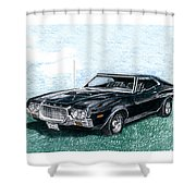 Ford Gran Torino Sport Shower Curtain