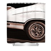 1972 Oldsmobile Cutlass 4-4-2 Shower Curtain
