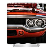1972 Plymouth Road Runner Shower Curtain