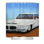 1972 Pontiac Gto Shower Curtain