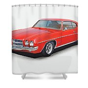 1972 Pontiac Lemans Shower Curtain