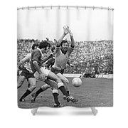 1974 All Ireland Football Final Shower Curtain