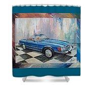 1976 Mercedes-benz 450 Sl Shower Curtain