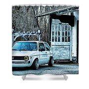 1979 Vw Rabbit II Shower Curtain
