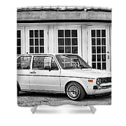 1979 Vw Rabbit IIi Shower Curtain