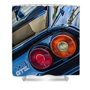 1980 Ferrari 308 Gtsi Taillight Emblem -0036c Shower Curtain